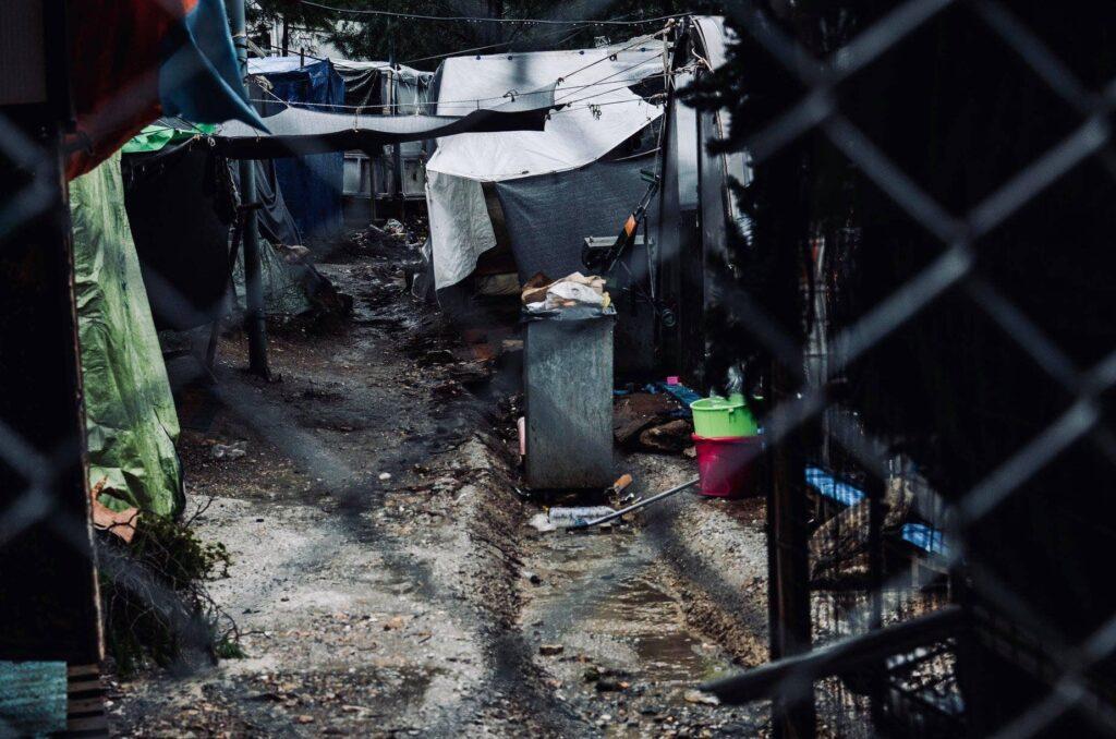 1. Hilfslieferung – nach Samos