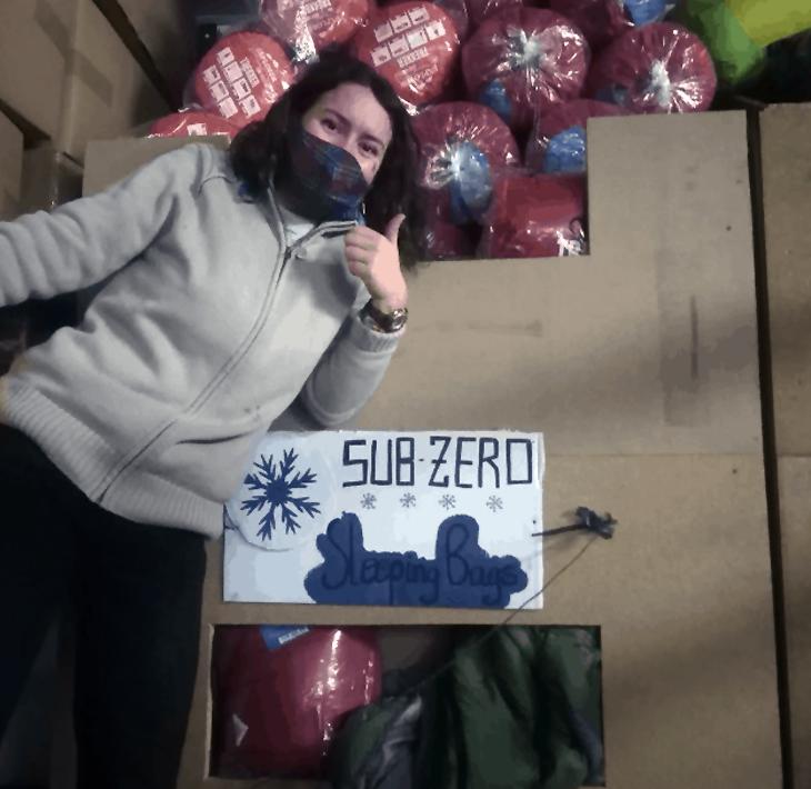 26. Hilfslieferung – nach Calais, Frankreich