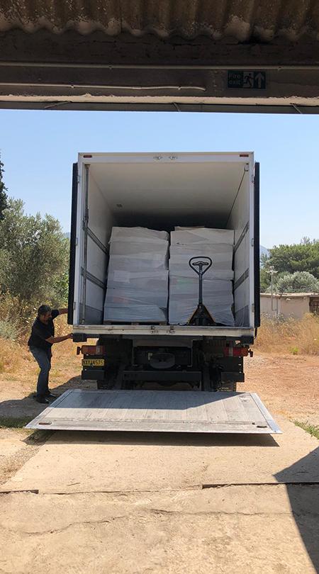 16. Hilfslieferung – über Umwege nach Chios und Samos