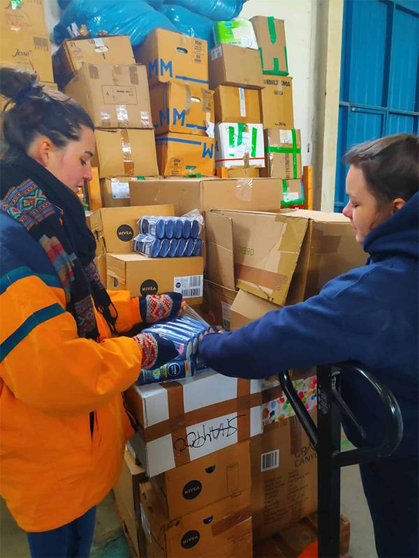 11. Hilfslieferung – nach Serres und Thessaloniki
