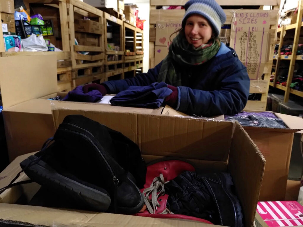 34. Hilfslieferung – nach Calais, Frankreich